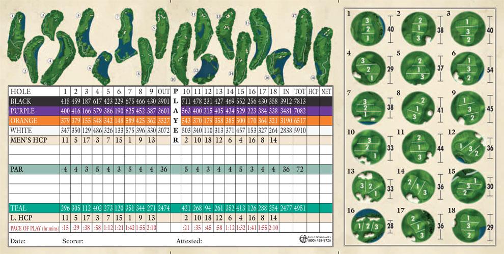 Robert trent jones golf trail capitol hill scorecard