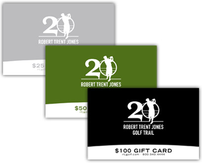 RTJ Golf Gift Card